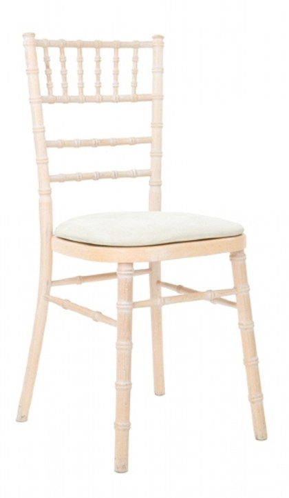 Limewash chivari chair