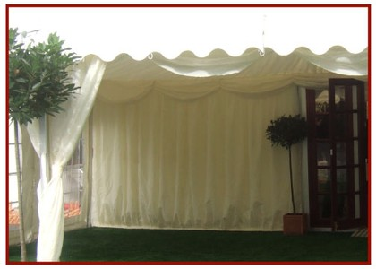 Marquee Linings and Wall Lining