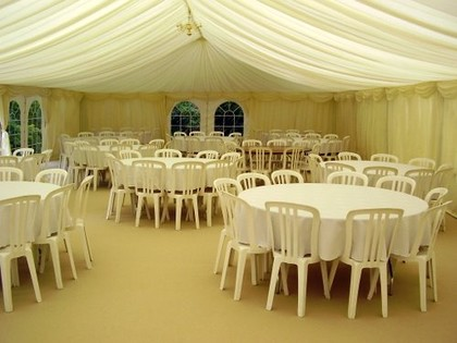 customer_service & White Bistro chair for Hire | Crest Marquees