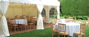 Garden Event with Open Marquee