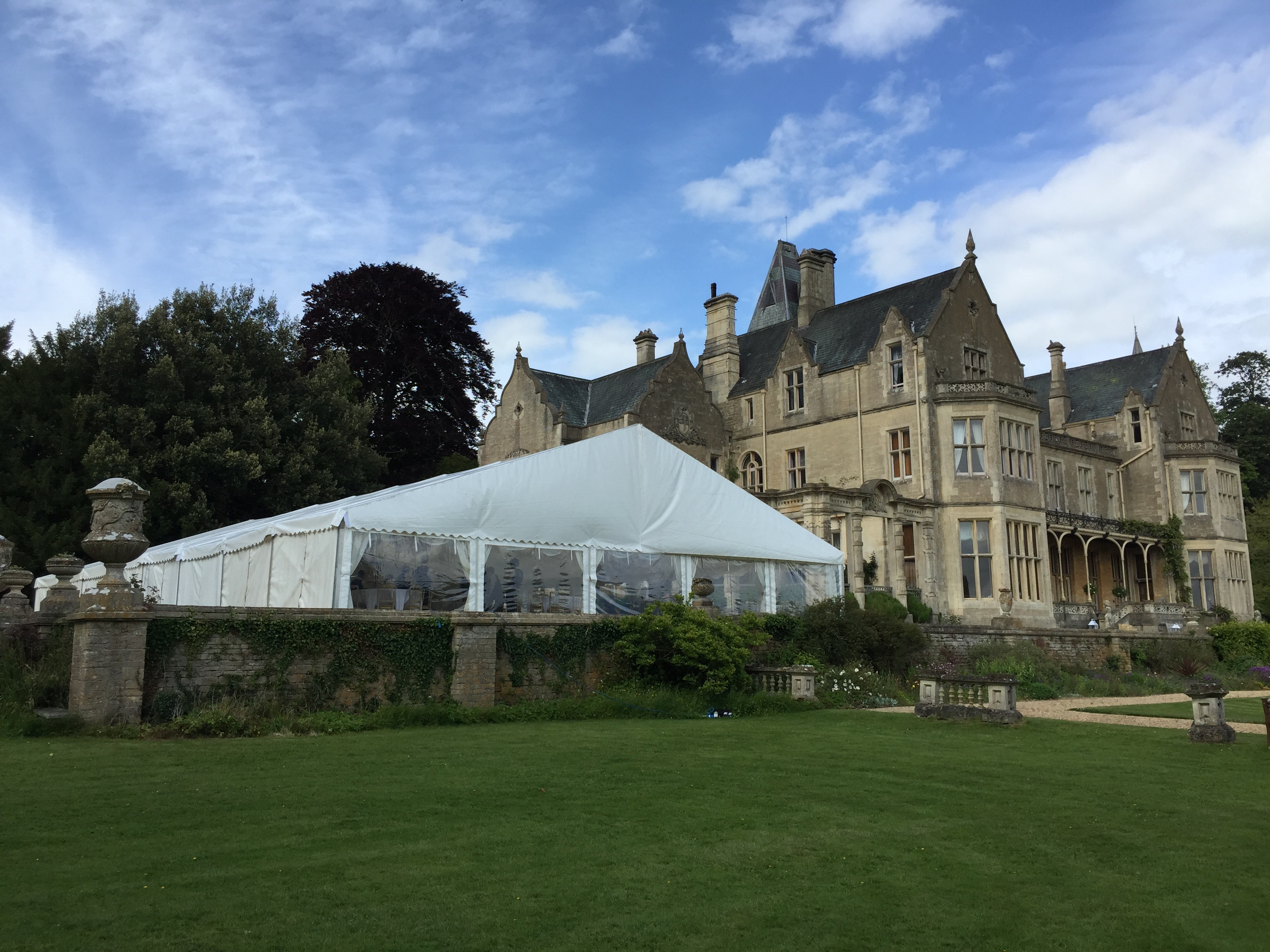 Marquee Hire UK - Areas Covered | Crest Marquees